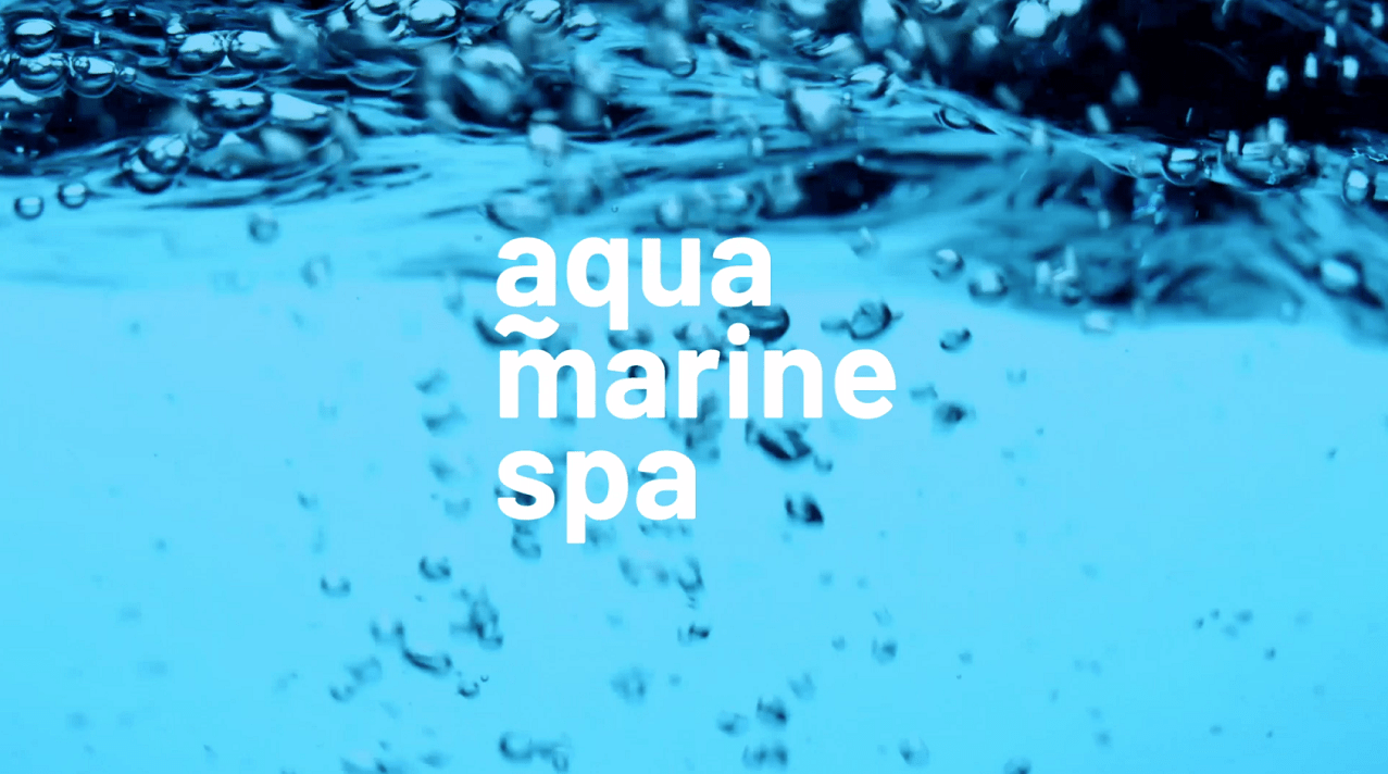 Aquamarinespa Showroom video